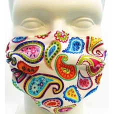 Breathe Healthy Paisley Punch Mask