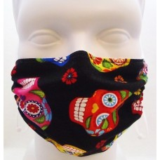 Breath Healthy Colourful Skull Mask