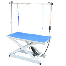 Pupkus Ultra Electric Grooming Table Blue/White