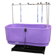 Pupkus Paw Print Bath - Purple