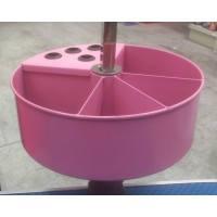 Grooming Table Accessory Caddy Pink