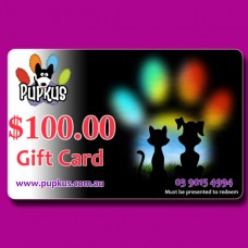 Pupkus $100.00 Gift Card