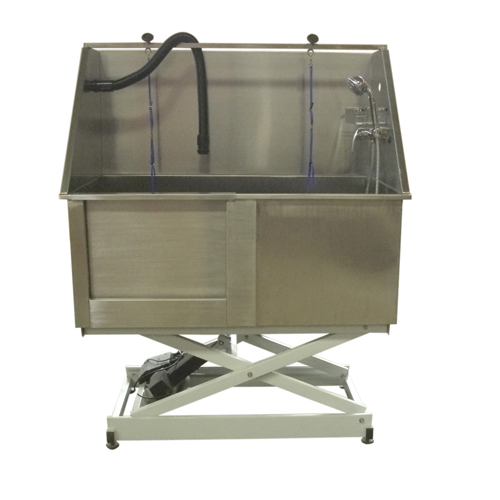 Hydraulic Dog Bath Tub : Best quality stainless steel bath tub on the market