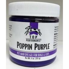 Top Performance Pet Hair Gel Poppin Purple 113g