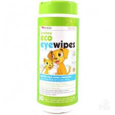 Petkin Bamboo Eco Eyewipes