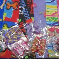 Bandana Bow Pack 2lg+4sml+ 10 bows